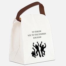 ham Canvas Lunch Bag
