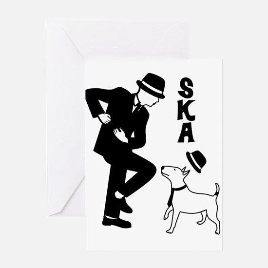 Rude Boy and Winston Greeting Cards
