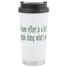 Unique Effort Travel Mug