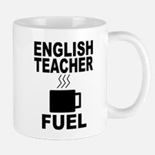 English Teacher Fuel Mugs