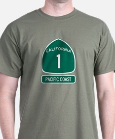 California 1 Pacific Coast T-Shirt