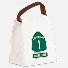 California 1 Pacific Coast Canvas Lunch Bag