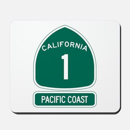 California 1 Pacific Coast Mousepad