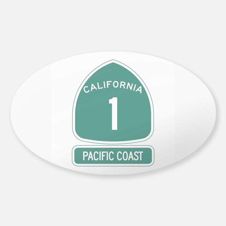 California 1 Pacific Coast Decal