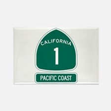 California 1 Pacific C Rectangle Magnet (100 pack)
