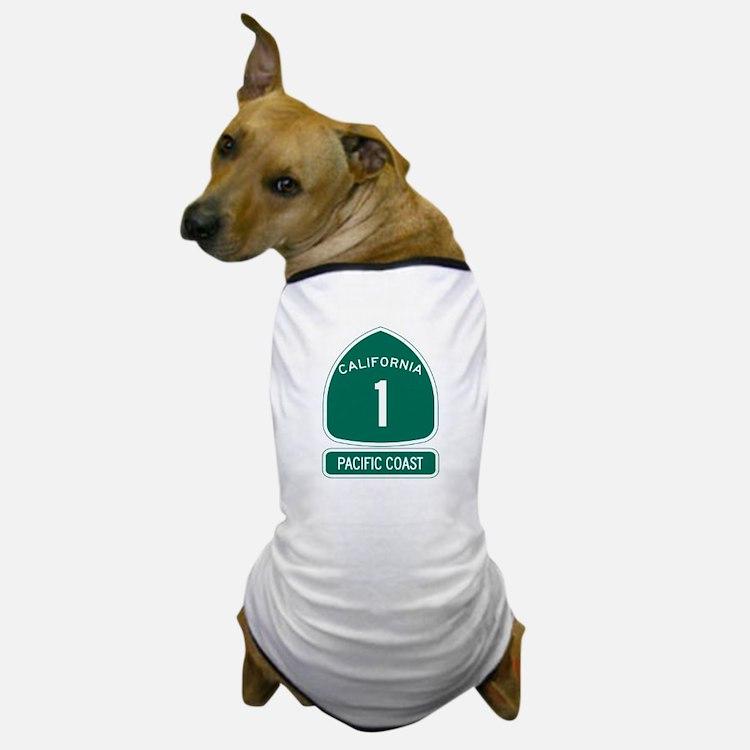 California 1 Pacific Coast Dog T-Shirt