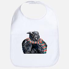 Black Winter Crow Bib