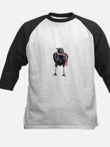 Black Winter Crow Baseball Jersey