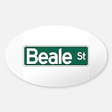 Beale St., Memphis, TN Decal