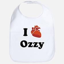 I (Heart) Ozzy Bib