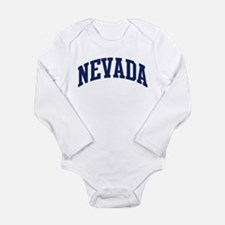 Cute Nevada Long Sleeve Infant Bodysuit