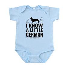Weiner Infant Bodysuit