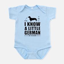 Unique Doxie Infant Bodysuit