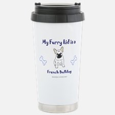 Cute French bulldog puppies Travel Mug
