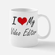 I love my Video Editor Mugs