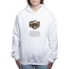 Unique Camera Women's Hooded Sweatshirt
