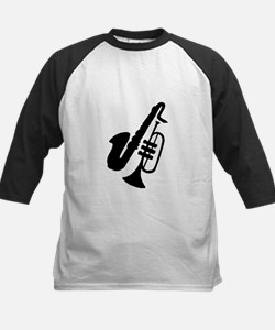 Trumpet And Saxophone Baseball Jersey