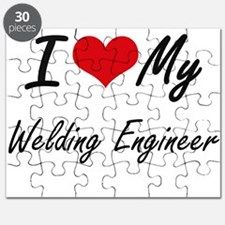 I love my Welding Engineer Puzzle