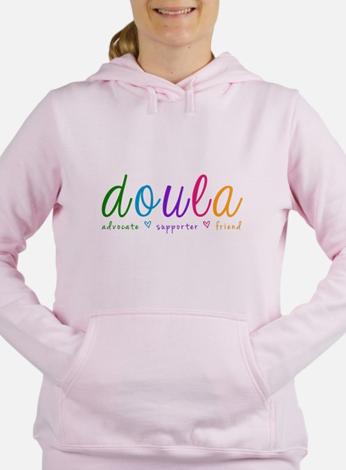 Cute Doula Women's Hooded Sweatshirt