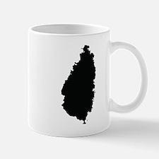 Saint Lucia Silhouette Mugs