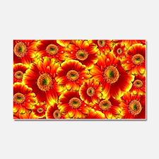Cool Sunflower Car Magnet 20 x 12