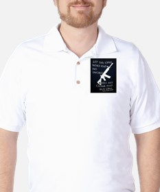 LUKE 22:36 Golf Shirt