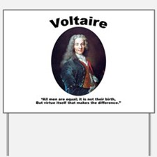 Voltaire Equal Yard Sign