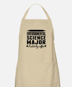 Environmental Science Major Fueled By Coffee Apron