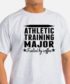Athletic Training Major Fueled By Coffee T-Shirt