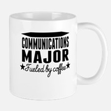Communications Major Fueled By Coffee Mugs
