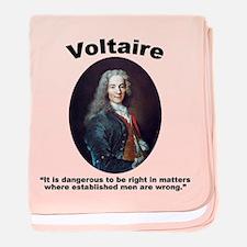 Voltaire Dangerous baby blanket