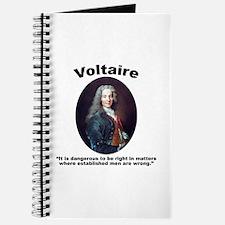 Voltaire Dangerous Journal