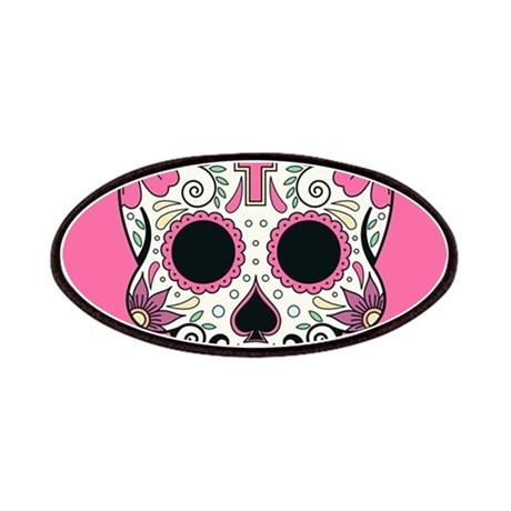 Sugar Skull Patch by FuzzyChair