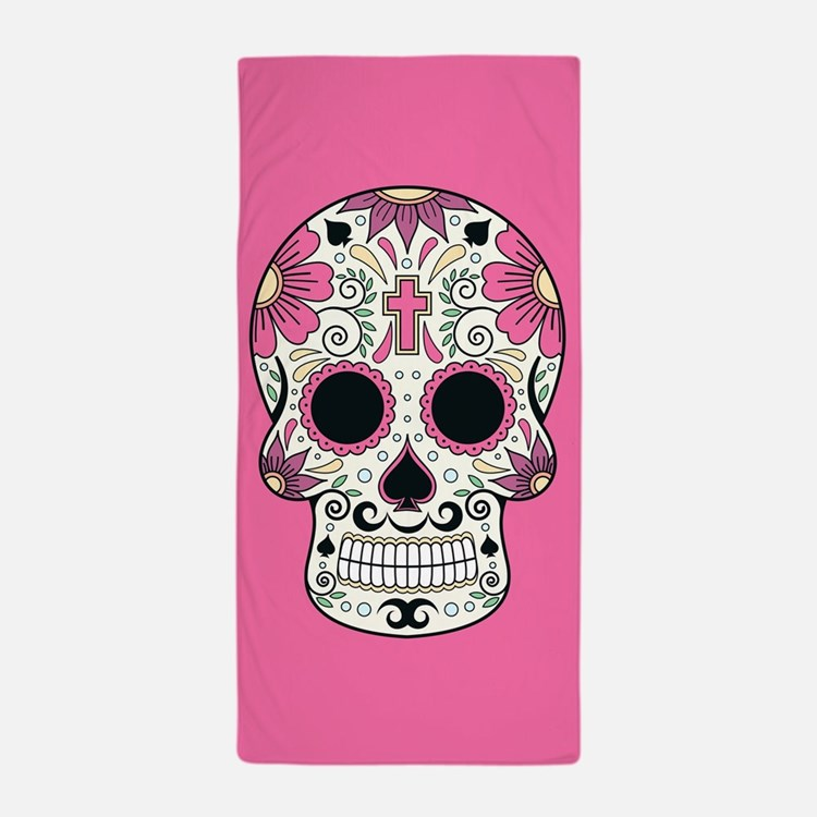 Day Of The Dead Bathroom Set: Day Of The Dead Skull Bathroom Accessories & Decor