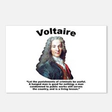 Voltaire Criminals Postcards (Package of 8)