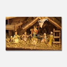 Cute Nativity Car Magnet 20 x 12
