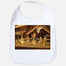 traditional nativity scene Bib