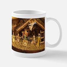 traditional nativity scene Mugs