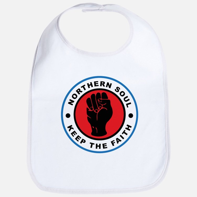 Cute Northern soul Bib