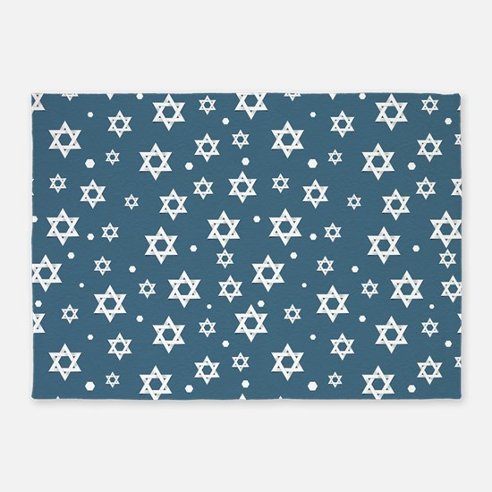 Hebrew Hope 5'x7'Area Rug