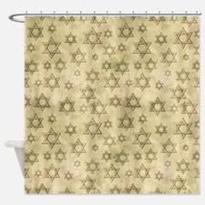 Jewish Blessings Shower Curtain