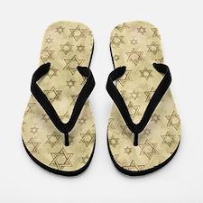 Jewish Blessings Flip Flops