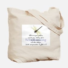 Faithbooking Tote Bag