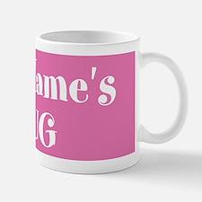 PINK Personalized Mug