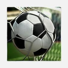 Soccer Goal Queen Duvet