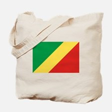 Congolese Flag Tote Bag