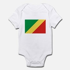Congolese Flag Infant Bodysuit