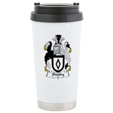 Unique Waugh family coat of arms Travel Mug
