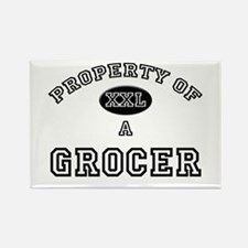 Property of a Grocer Rectangle Magnet