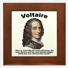Voltaire Bloody Framed Tile